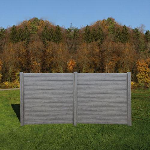 sichtschutz aus kunststoff f llprofilen larus. Black Bedroom Furniture Sets. Home Design Ideas